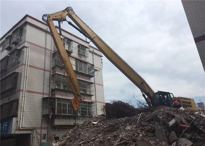 Caterpillar Cat 349 Excavator Demolition Boom For House Removal 24 Meter